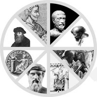 Various images of Pythagoras